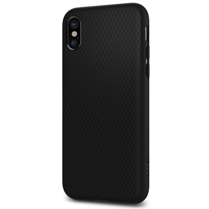 Spigen - Liquid Air Apple iPhone X/Xs hoes Black 06