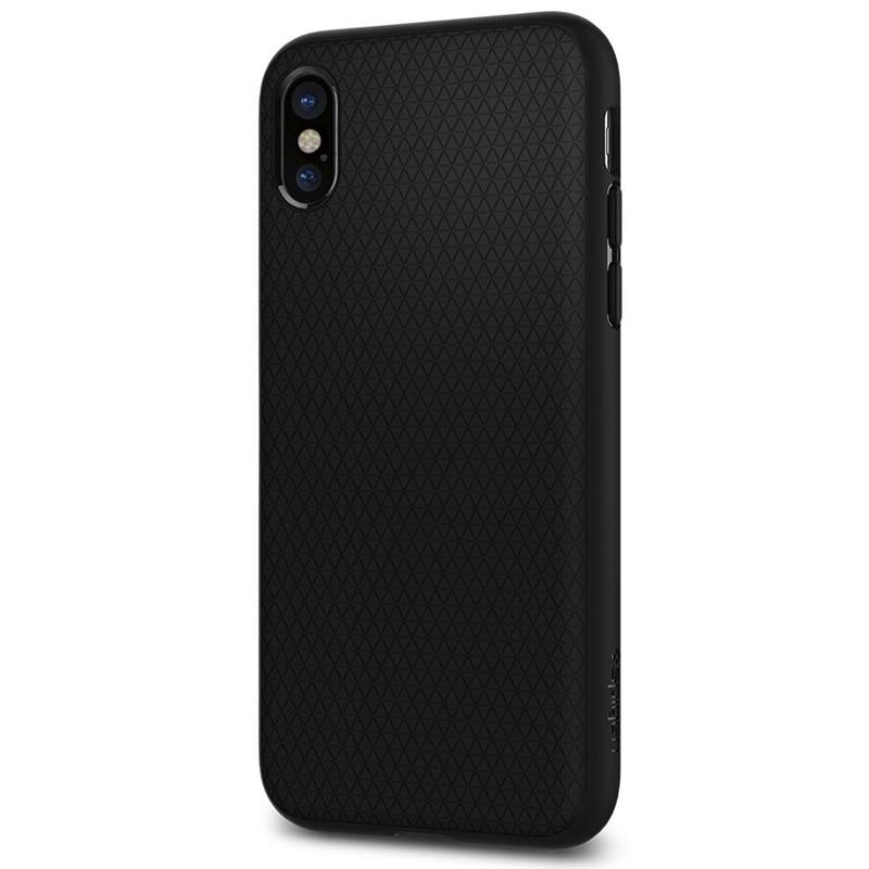 Spigen - Liquid Air Apple iPhone X/Xs hoes Black 06