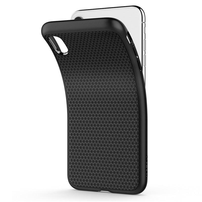 Spigen Liquid Air iPhone XR Hoes Zwart 03