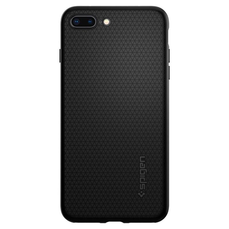 Spigen Liquid Air Armor Case iPhone 8 Plus/7 Plus Zwart - 4