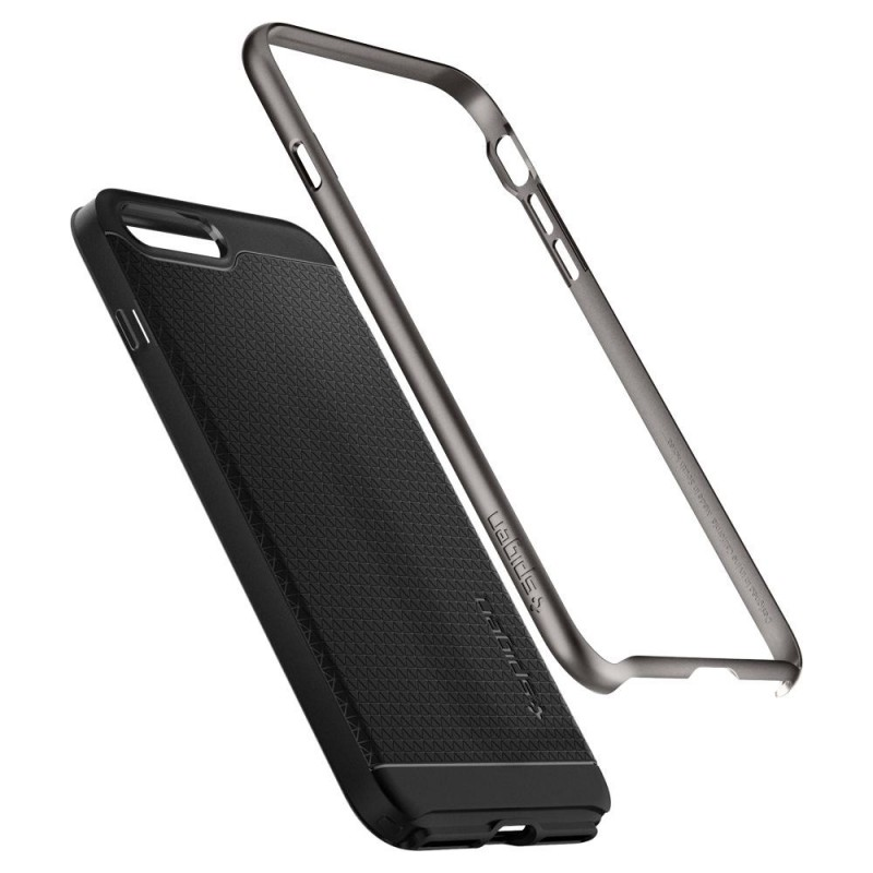 Spigen Neo Hybrid 2 Case iPhone 8 Plus/7 Plus Gunmetal - 2