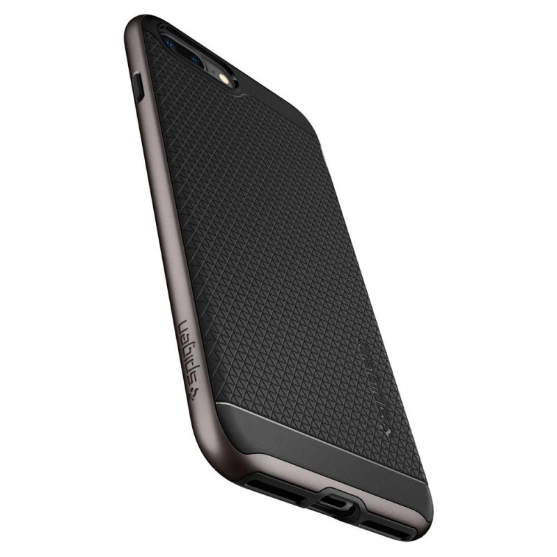 Spigen Neo Hybrid 2 Case iPhone 8 Plus/7 Plus Gunmetal - 4
