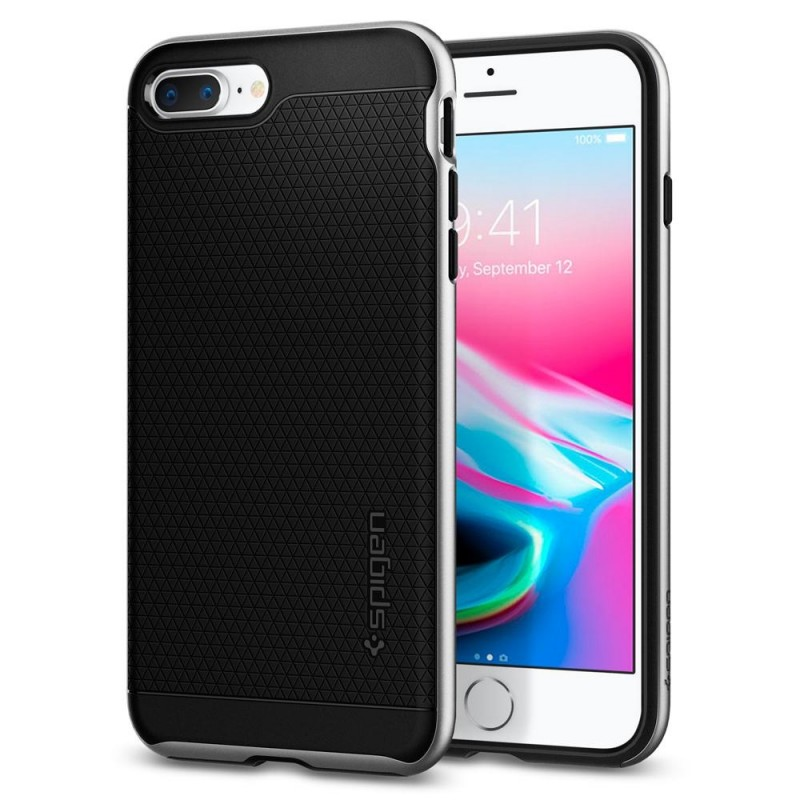 Spigen Neo Hybrid 2 Case iPhone 8 Plus/7 Plus Zilver - 1