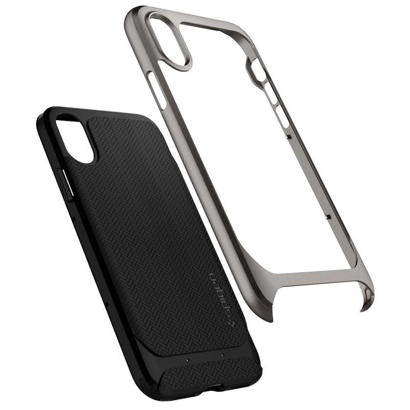 Spigen - Neo Hybrid iPhone 8 Hoesje gunmetal 02
