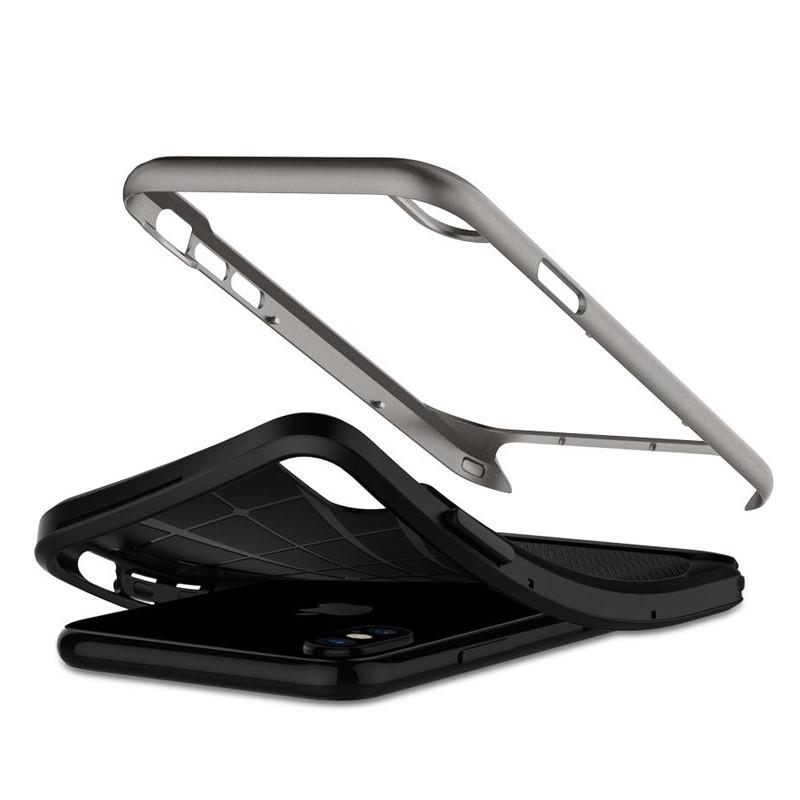 Spigen - Neo Hybrid iPhone 8 Hoesje gunmetal 03