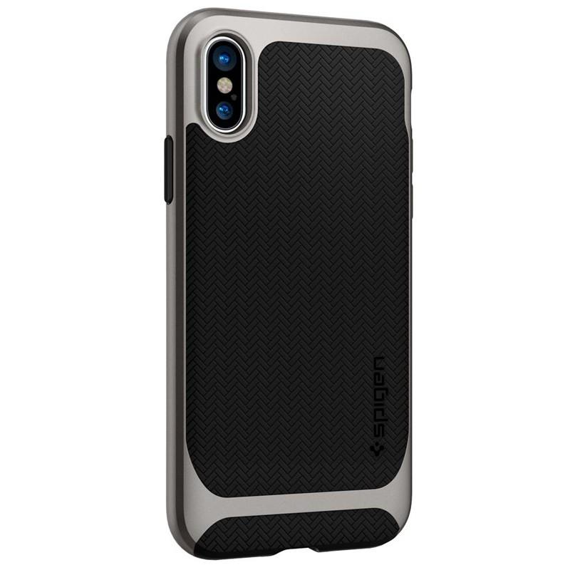Spigen - Neo Hybrid iPhone 8 Hoesje gunmetal 07