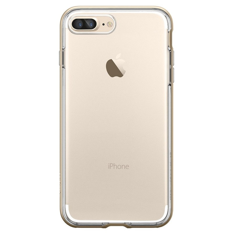Spigen Neo Hybrid Crystal iPhone 7 Plus Champagne/Clear - 2