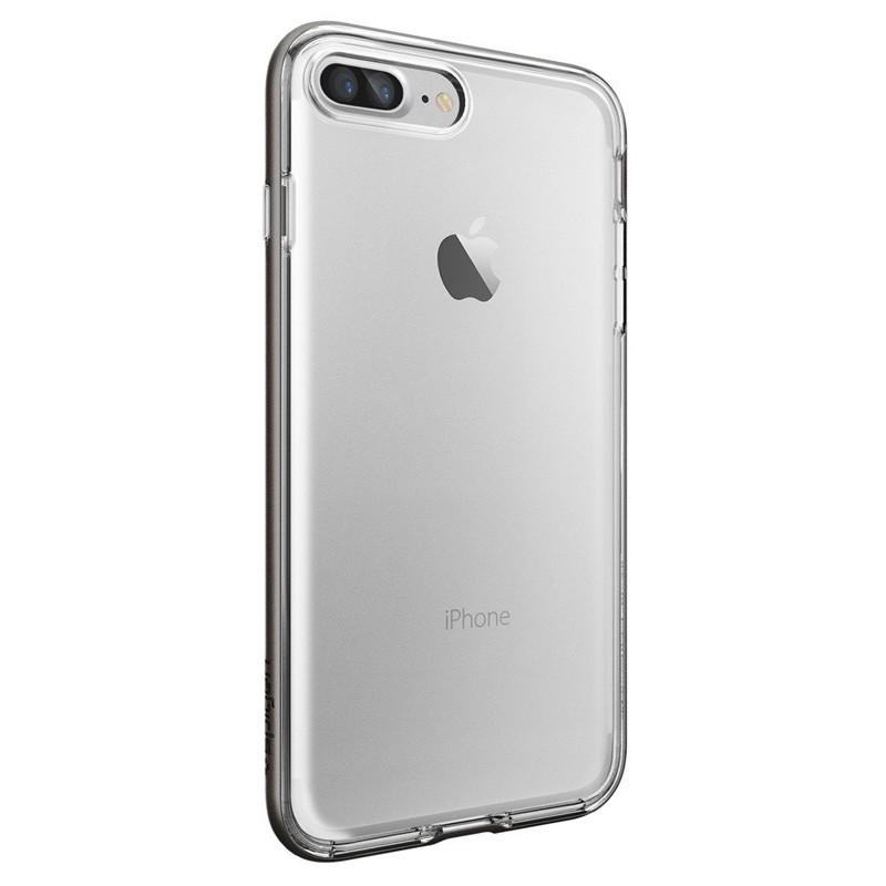 Spigen Neo Hybrid Crystal iPhone 7 Plus Gunmetal/Clear - 5