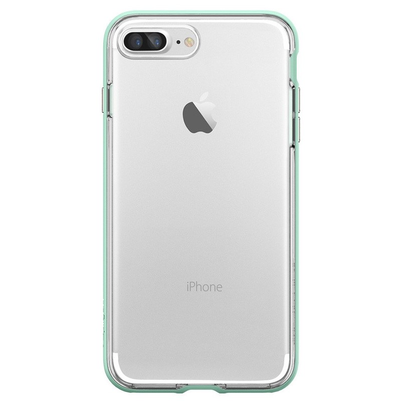 Spigen Neo Hybrid Crystal iPhone 7 Plus Mint/Clear - 1