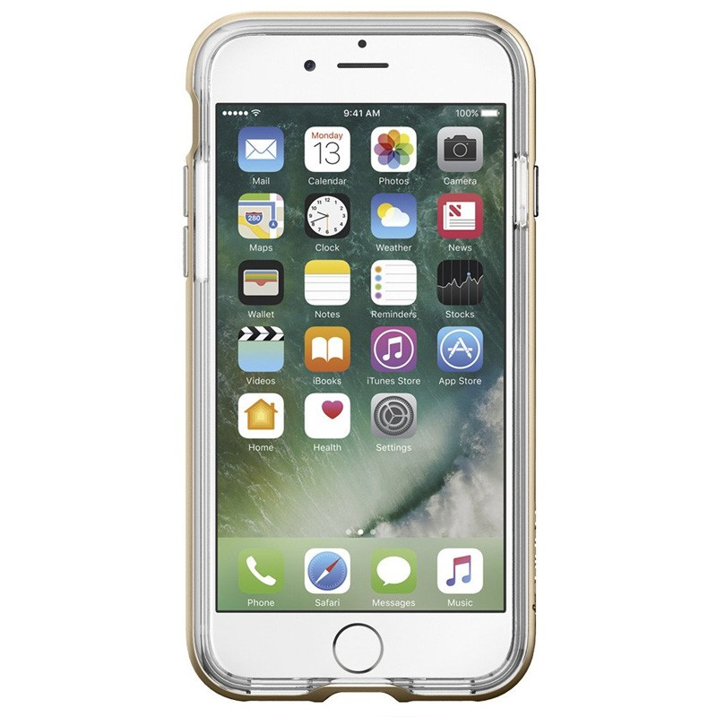Spigen Neo Hybrid Crystal iPhone 7 Champagne/Clear - 2