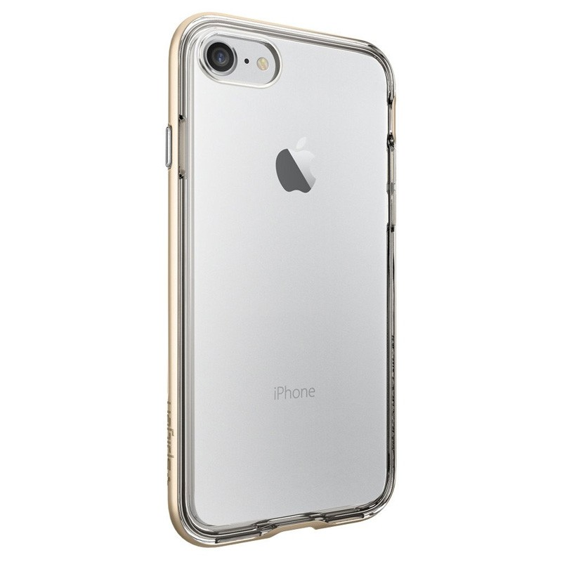 Spigen Neo Hybrid Crystal iPhone 7 Champagne/Clear - 4