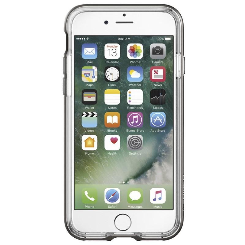 Spigen Neo Hybrid Crystal iPhone 7 Gunmetal/Clear - 2