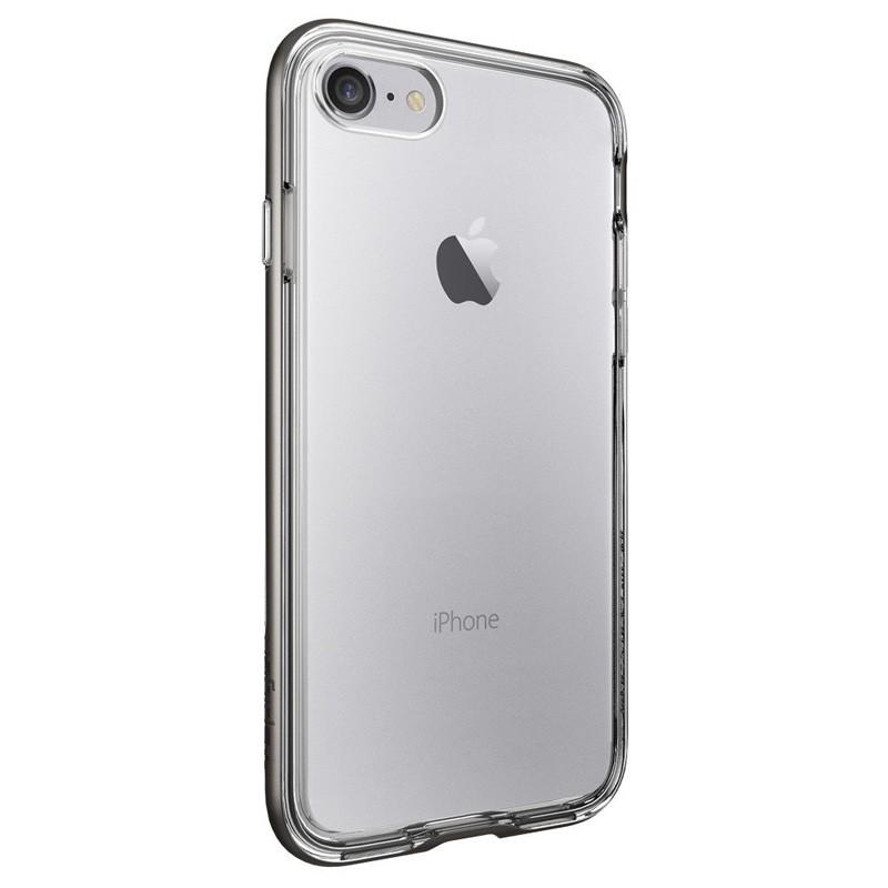 Spigen Neo Hybrid Crystal iPhone 7 Gunmetal/Clear - 4