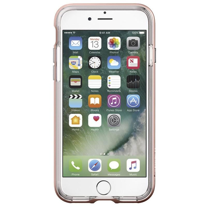 Spigen Neo Hybrid Crystal iPhone 7 Rose Gold/Clear - 2