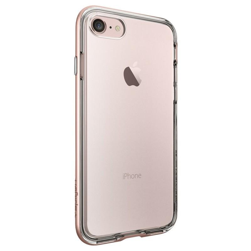 Spigen Neo Hybrid Crystal iPhone 7 Rose Gold/Clear - 4