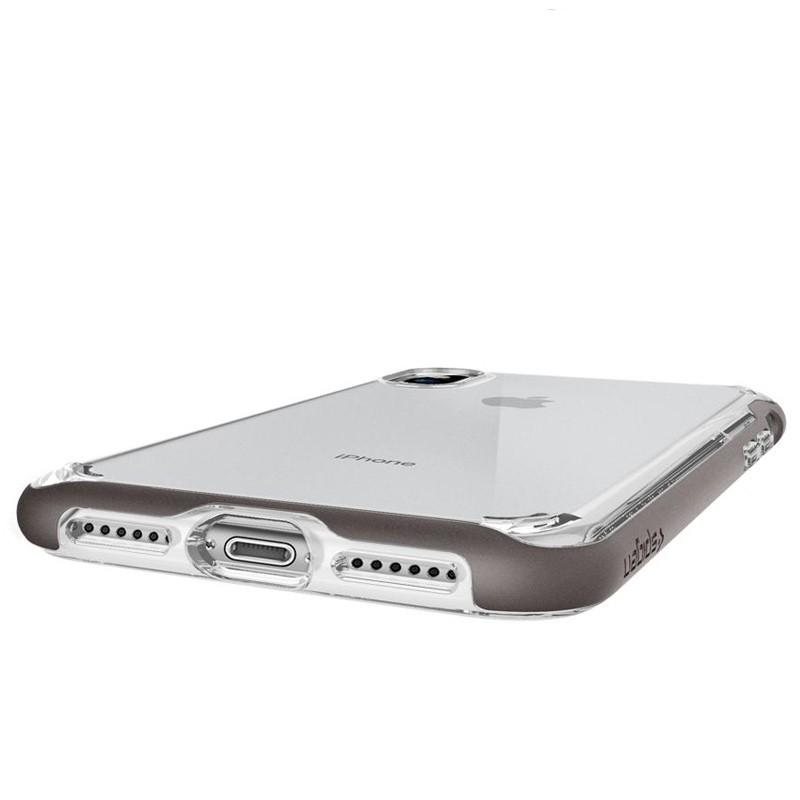 Spigen - Neo Hybrid Crystal iPhone 8 Hoesje gunmetal - clear 04