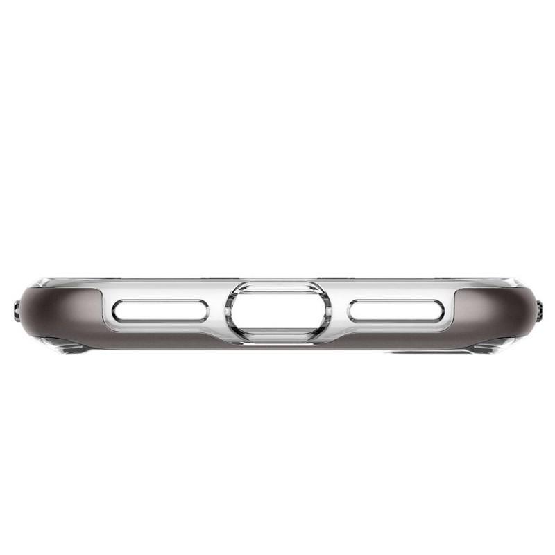 Spigen - Neo Hybrid Crystal iPhone 8 Hoesje gunmetal - clear 09