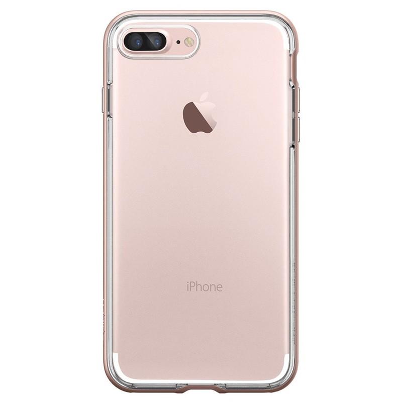 Spigen Neo Hybrid Crystal iPhone 7 Plus Rose Gold/Clear - 2
