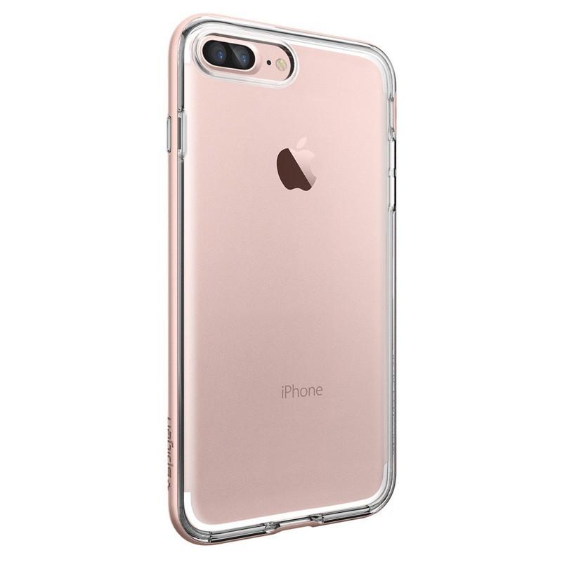 Spigen Neo Hybrid Crystal iPhone 7 Plus Rose Gold/Clear - 5