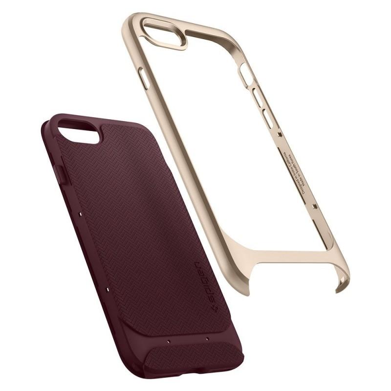 Spigen Neo Hybrid Herringbone Phone 8/7 Burgundy - 2
