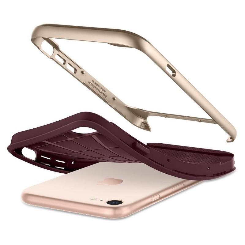 Spigen Neo Hybrid Herringbone Phone 8/7 Burgundy - 4
