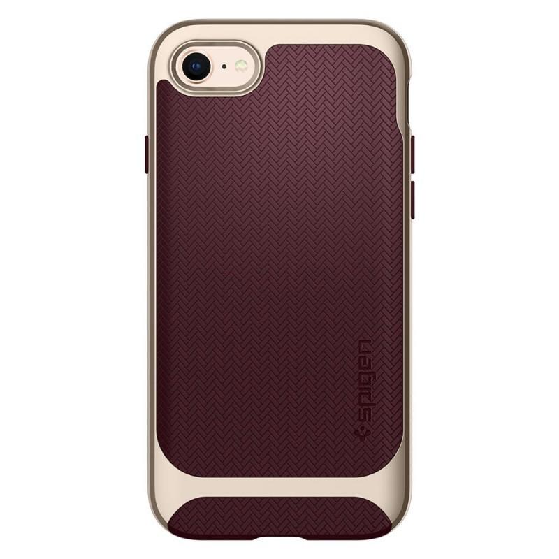 Spigen Neo Hybrid Herringbone Phone 8/7 Burgundy - 5