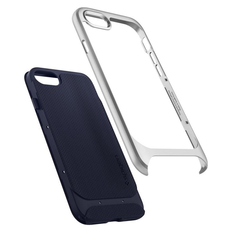 Spigen Neo Hybrid Herringbone Phone 8/7 Zilver - 2
