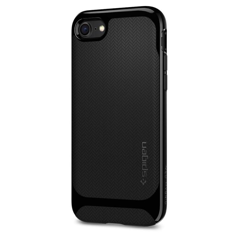 Spigen Neo Hybrid Herringbone Phone 8/7 Zwart - 4