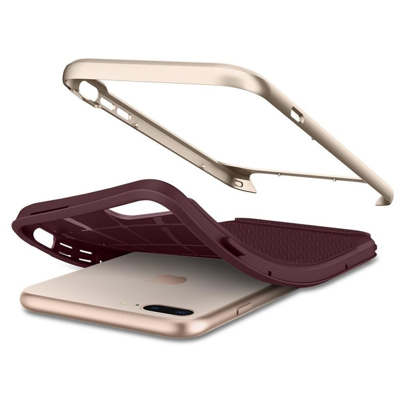 Spigen Neo Hybrid Herringbone iPhone 8 Plus/7 Plus Burgundy - 4