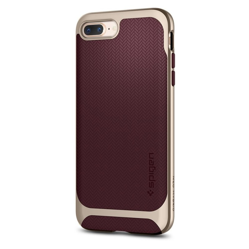 Spigen Neo Hybrid Herringbone iPhone 8 Plus/7 Plus Burgundy - 6