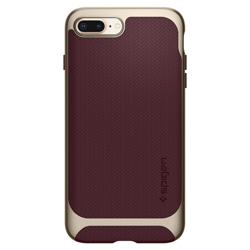 Spigen Neo Hybrid Herringbone iPhone 8 Plus/7 Plus Burgundy - 5