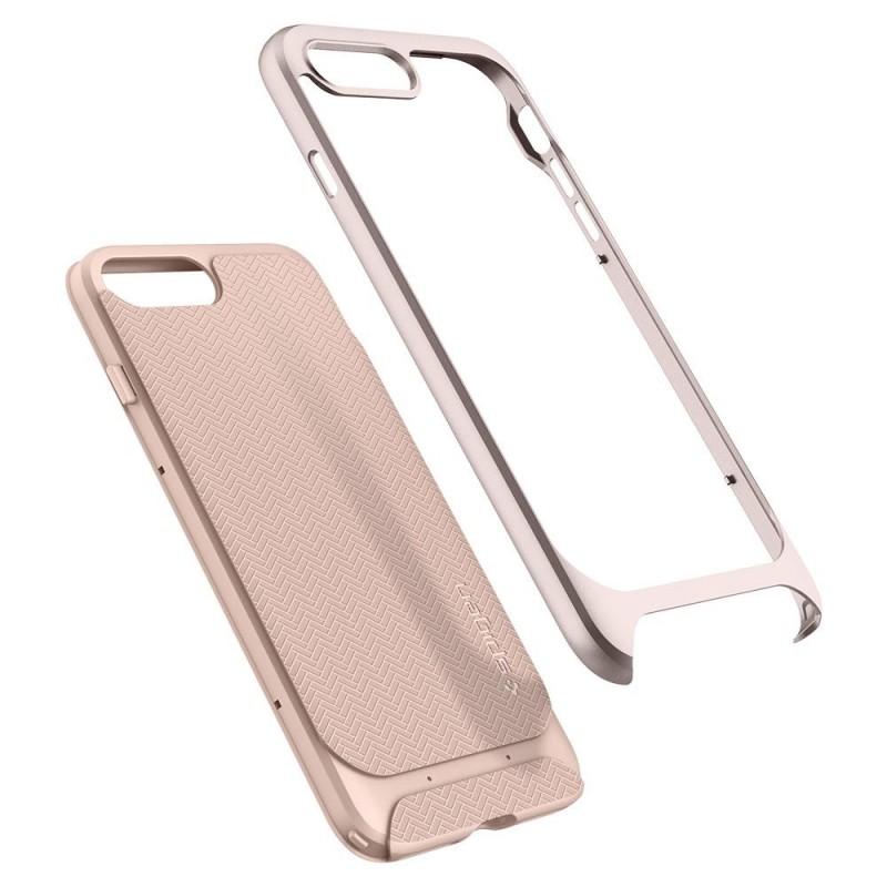 Spigen Neo Hybrid Herringbone iPhone 8 Plus/7 Plus Pale Dogwood - 2
