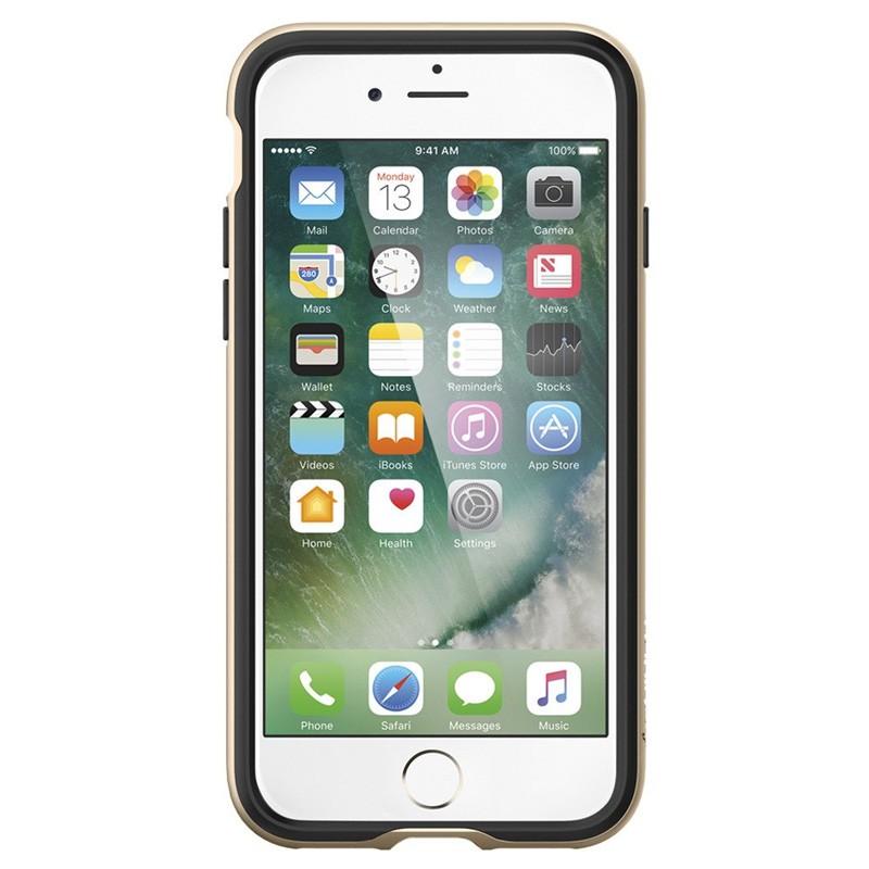 Spigen Neo Hybrid iPhone 7 Champagne Gold/Black - 2