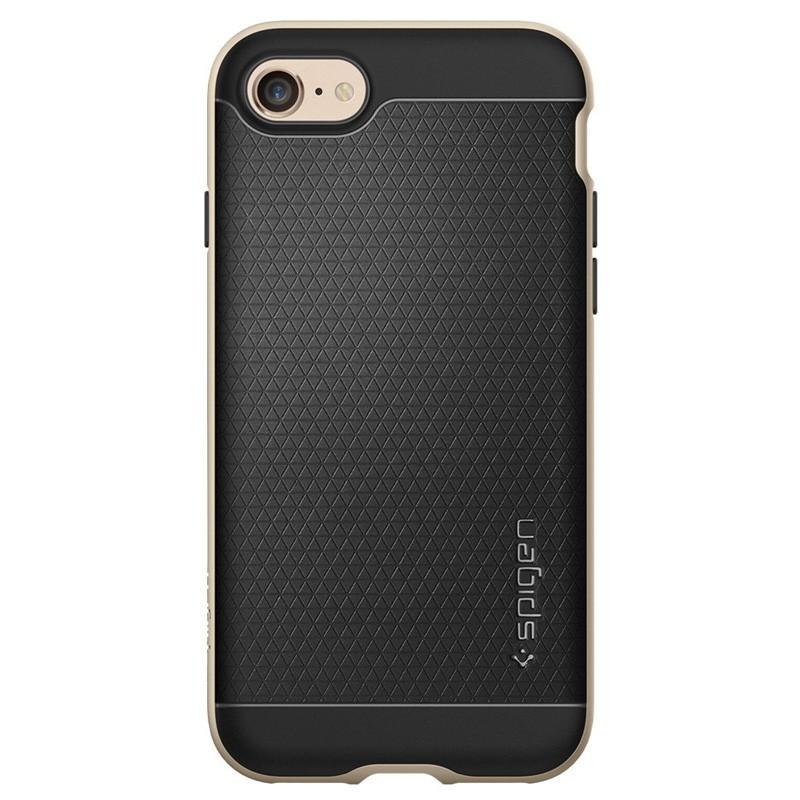Spigen Neo Hybrid iPhone 7 Champagne Gold/Black - 4