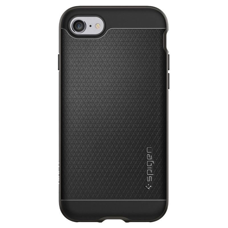 Spigen Neo Hybrid iPhone 7 Gunmetal/Black - 4