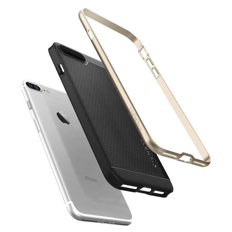 Spigen Neo Hybrid Case iPhone 7 Plus Champagne Gold/Black - 6