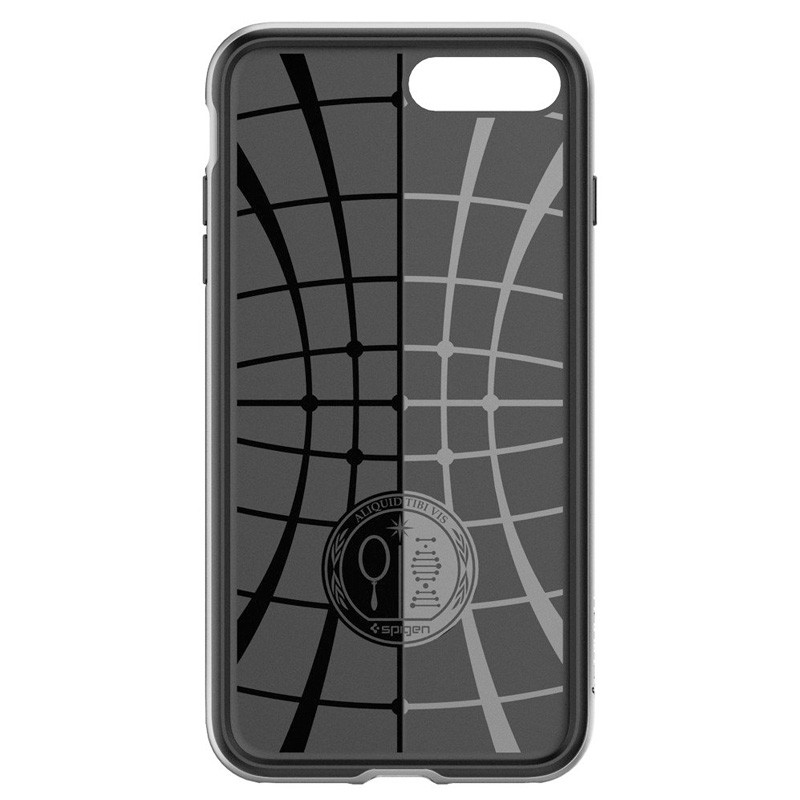 Spigen Neo Hybrid Case iPhone 7 Plus Silver/Black - 4