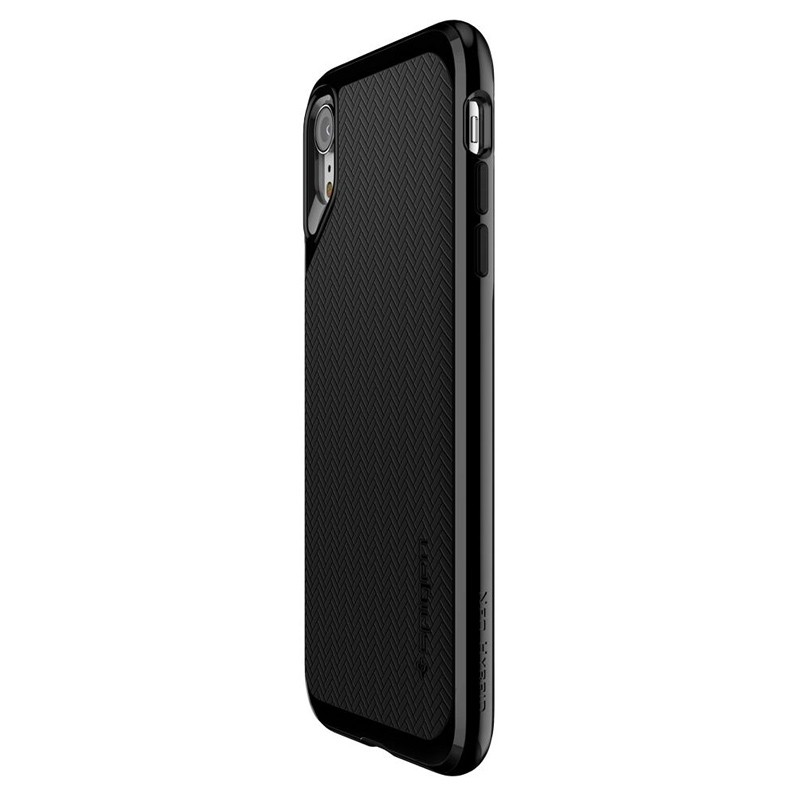 Spigen Neo Hybrid Case iPhone XR Grijs Jet Black 05