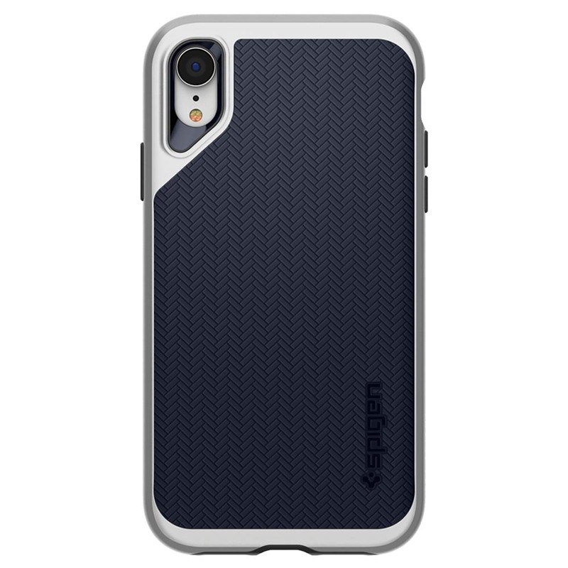Spigen Neo Hybrid Case iPhone XR Grijs Jet Black 06
