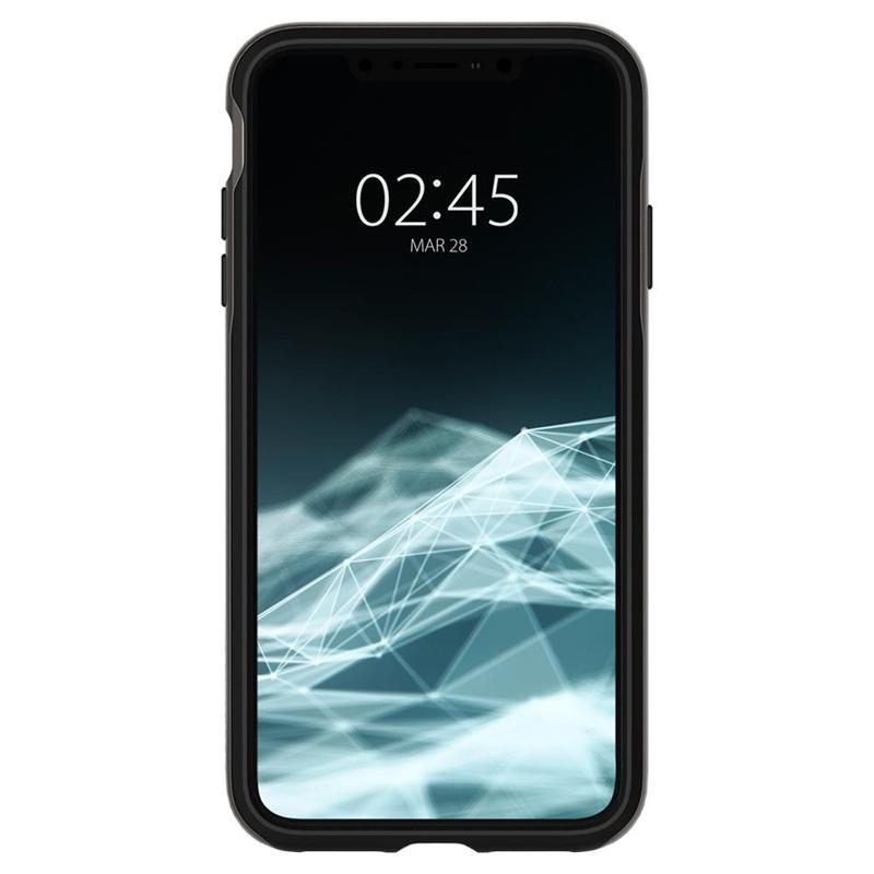 Spigen Neo Hybrid iPhone XS Max Hoesje Gunmetal 02