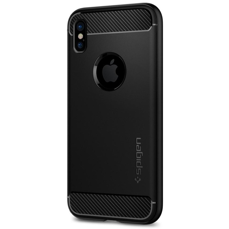 Spigen - Rugged Armor iPhone 8 Hoesje Black 05
