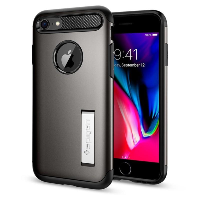 Spigen Slim Armor Case Phone 8/7 Gunmetal - 1