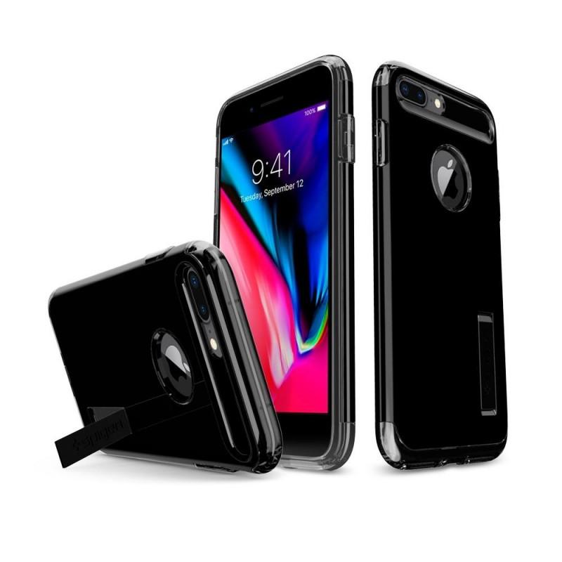 Spigen Slim Armor Case iPhone 8 Plus/7 Plus Git Zwart - 2