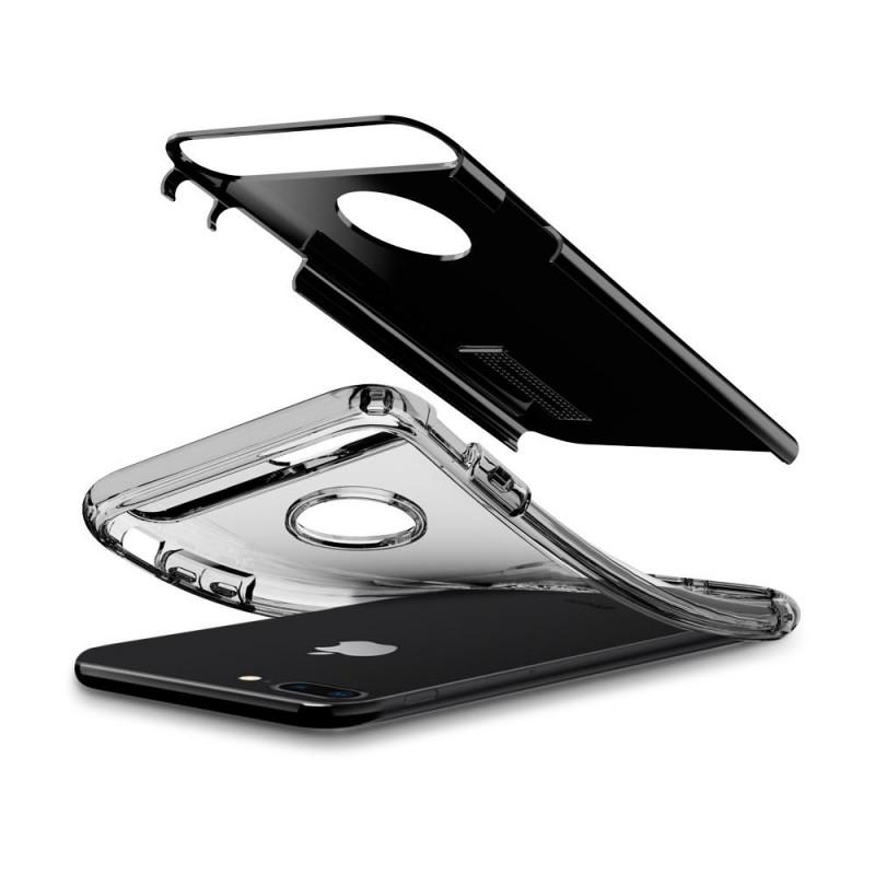Spigen Slim Armor Case iPhone 8 Plus/7 Plus Git Zwart - 4