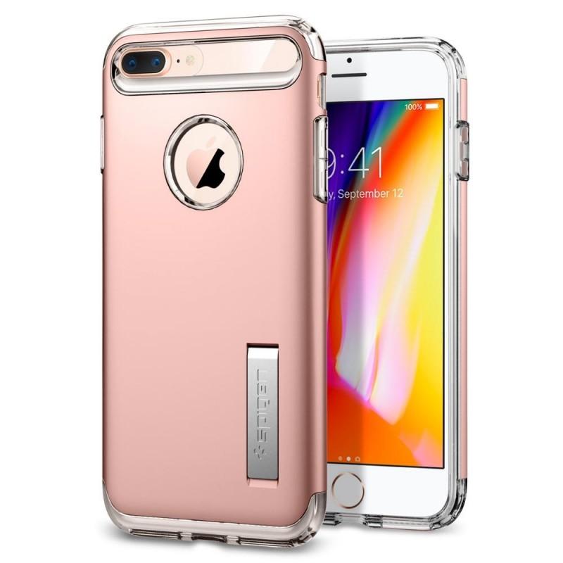 Spigen Slim Armor Case iPhone 8 Plus/7 Plus Roze - 1