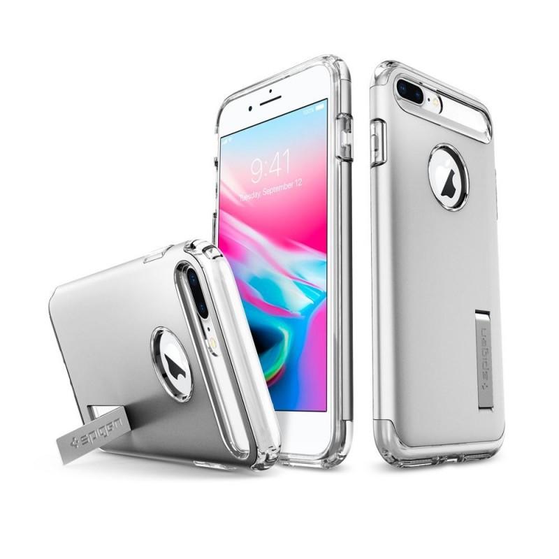 Spigen Slim Armor Case iPhone 8 Plus/7 Plus Zilver - 2