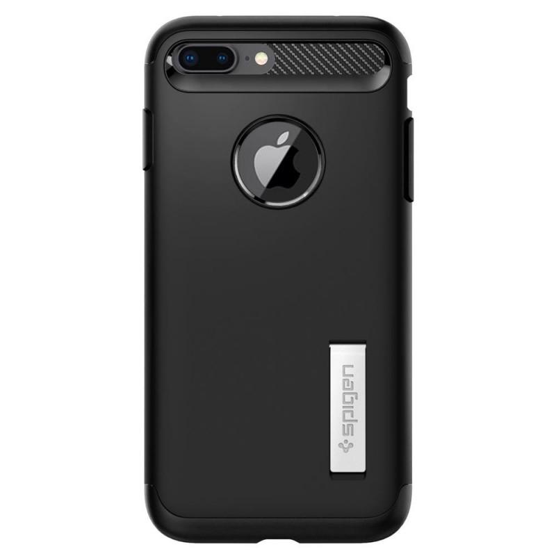 Spigen Slim Armor Case iPhone 8 Plus/7 Plus Zwart - 6