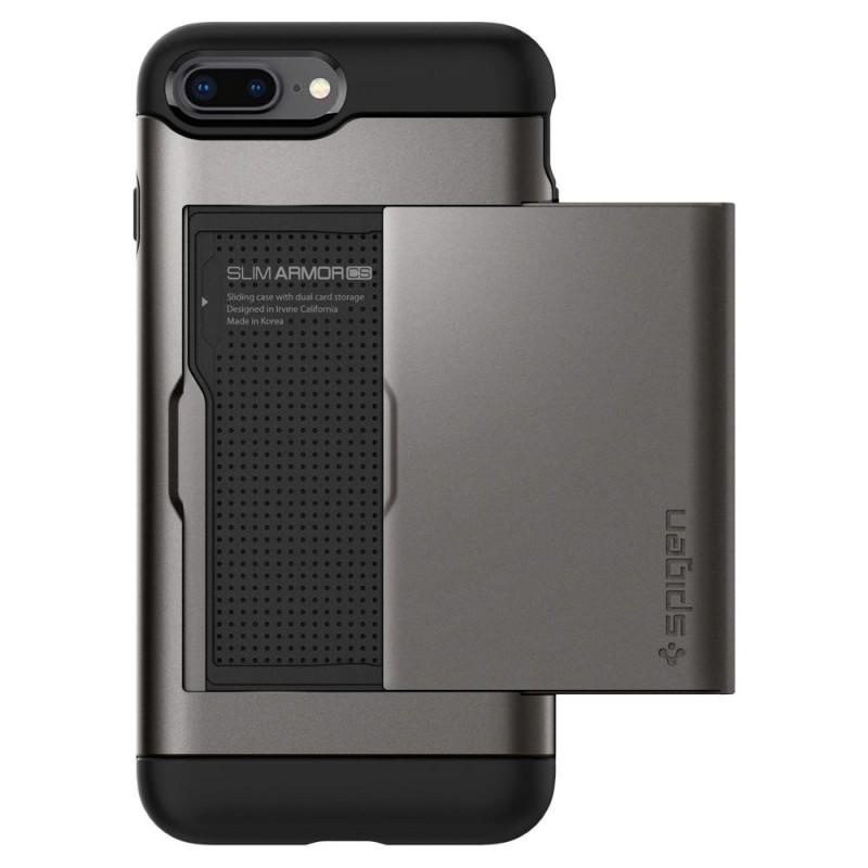 Spigen Slim Armor CS iPhone 8 Plus/7 Plus Gunmetal - 3