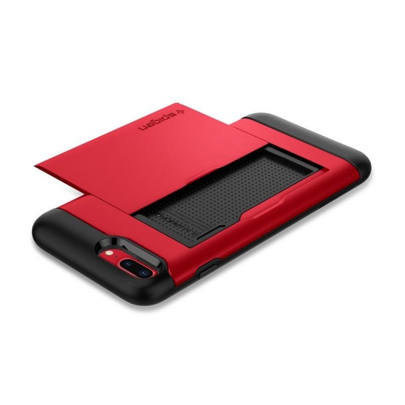 Spigen Slim Armor CS iPhone 8 Plus/7 Plus Rood - 4