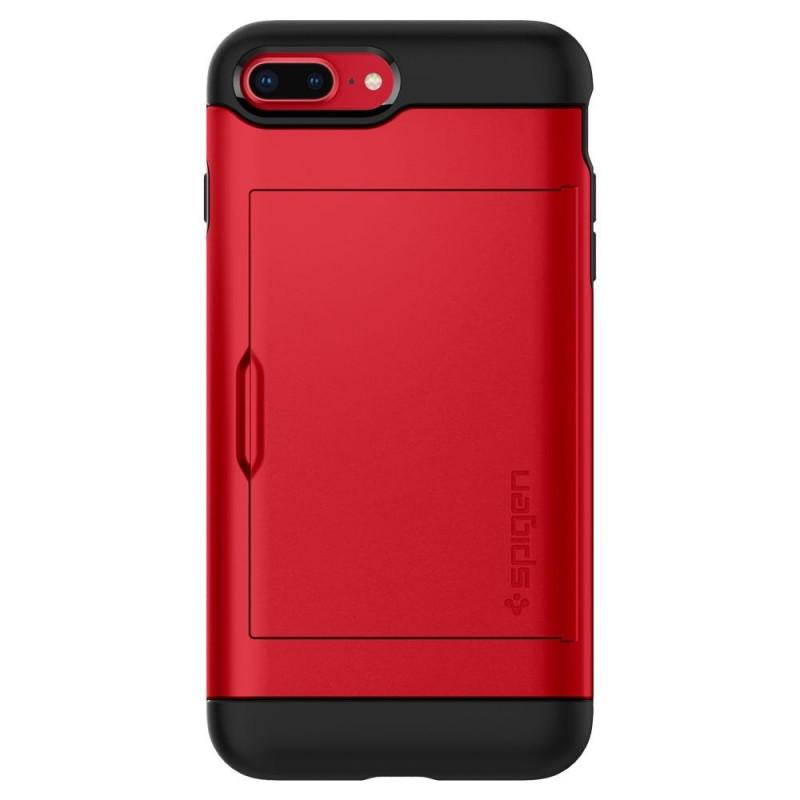 Spigen Slim Armor CS iPhone 8 Plus/7 Plus Rood - 6